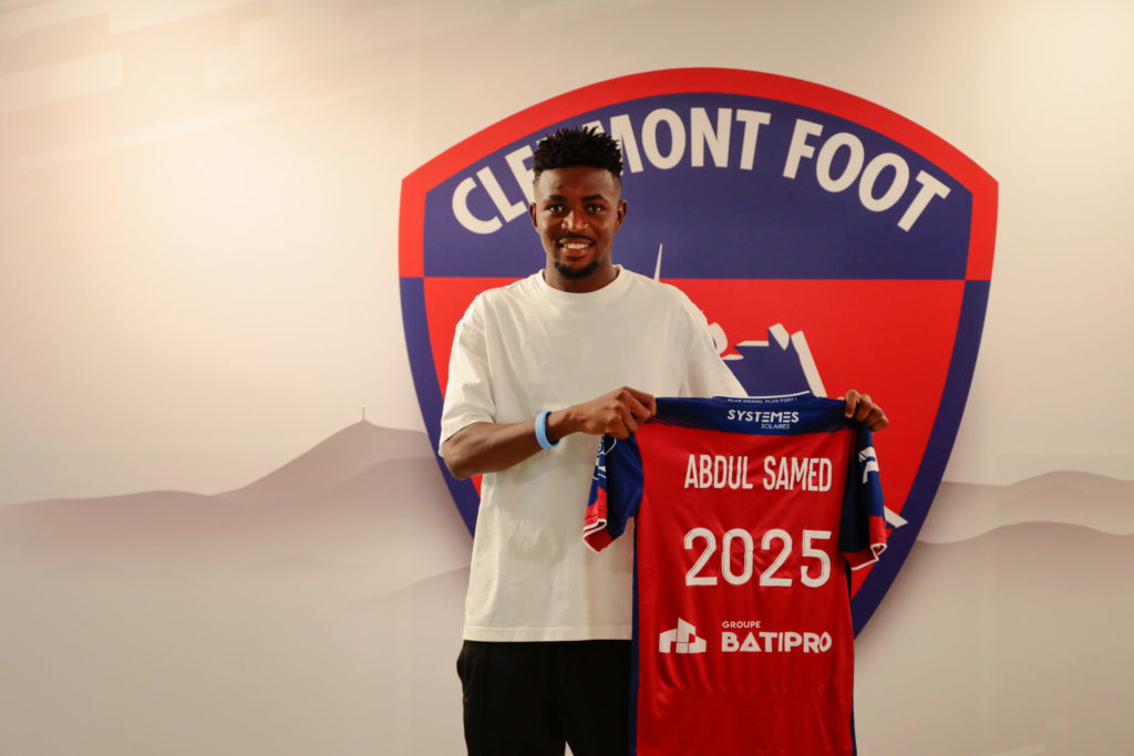 Ligue 1 new boys Clermont Foot announce permanent signing of Ghanaian youngster Salis Abdul Samed