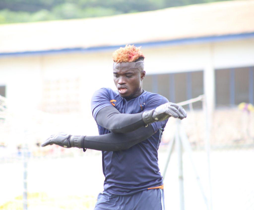 Hearts of Oak withdraw interest in Medeama goalkeeper Eric Ofori Antwi