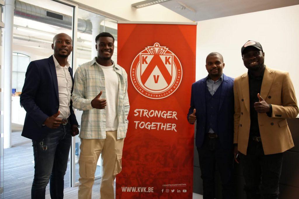 Ghanaian youngster Charles Jesaja Akonnor joins KV Kortrijk in Belgium