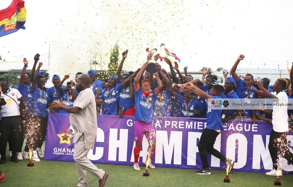 PICTURES: Hearts of Oak crowned Ghana Premier League Champions