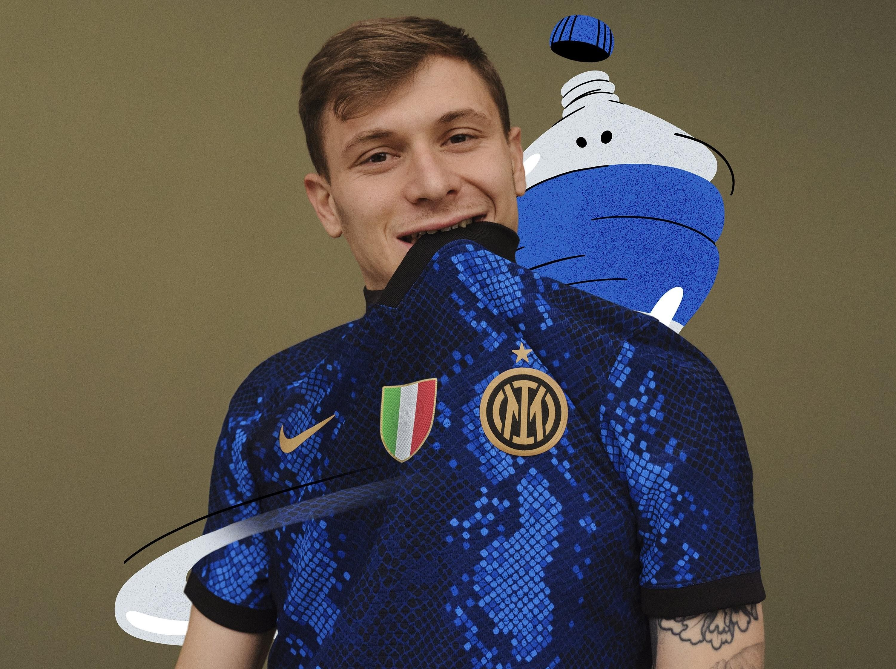 THE NEW SKIN OF MILANO: INTER UNVEIL 2021/22 HOME JERSEY