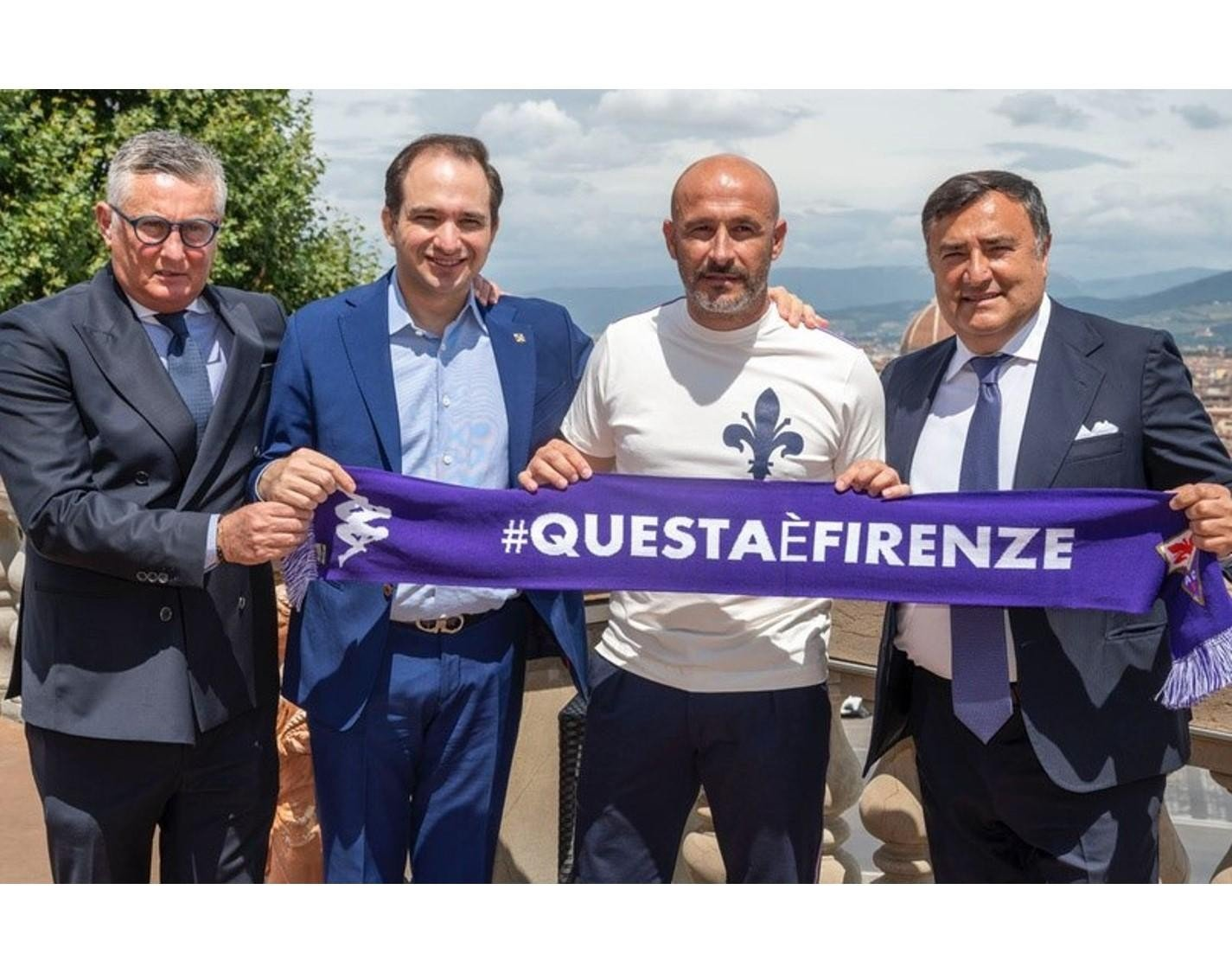 ITALIANO UNVEILED AS NEW FIORENTINA COACH