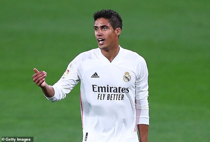 Manchester United 'enter talks with Real Madrid over a deal for Varane'