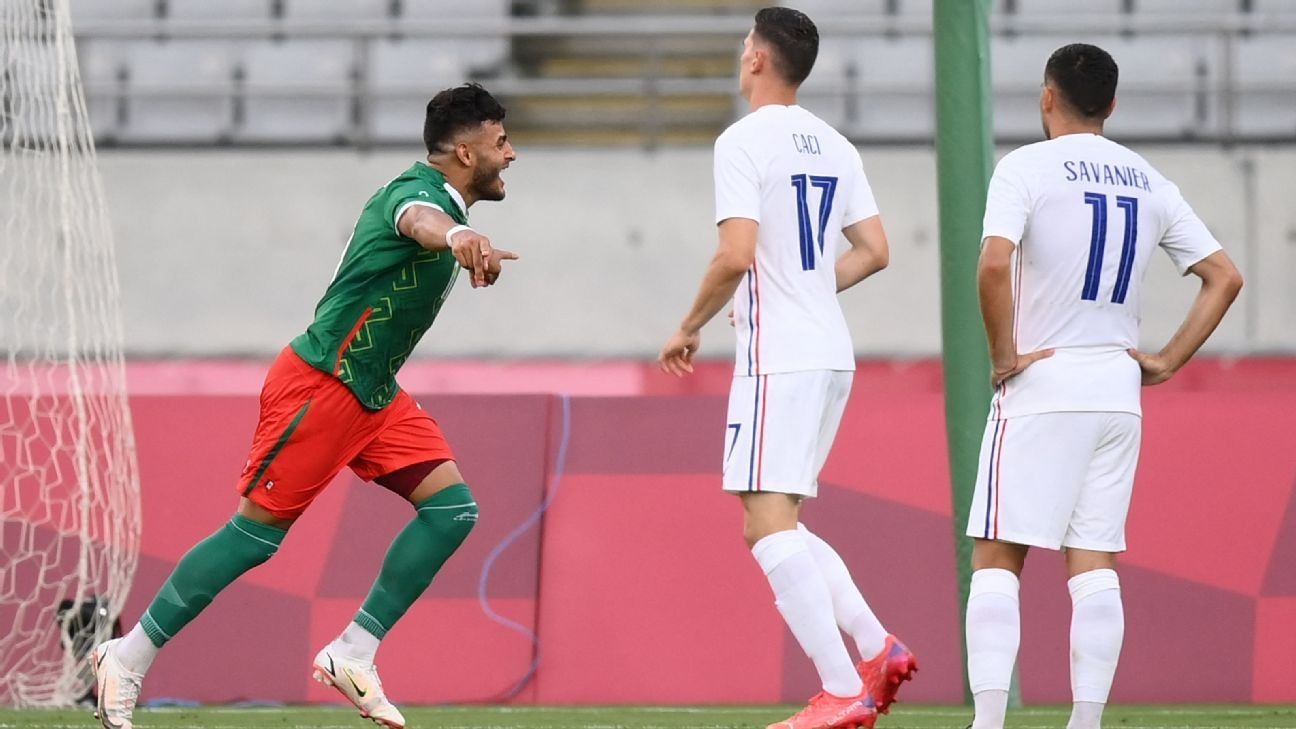Mexico confidently dispatch France in Tokyo