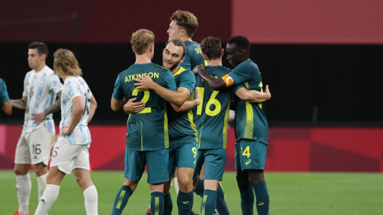 Australia's fearless approach earns shock win over Argentina