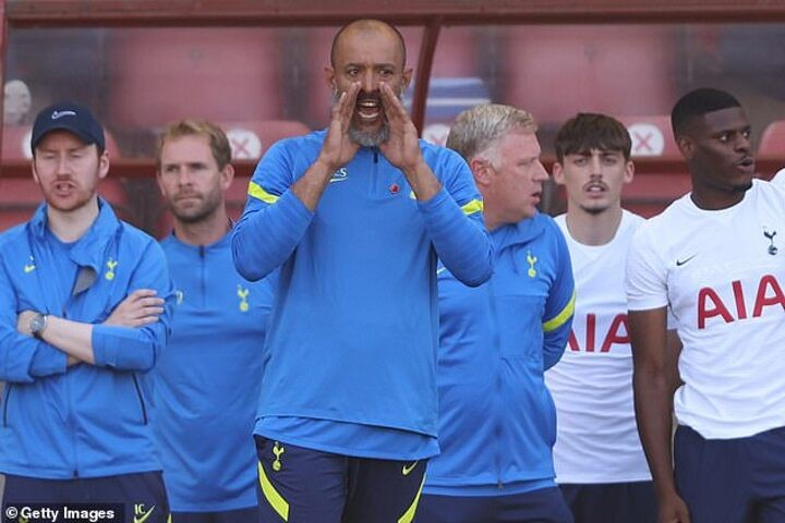 Is this how Tottenham will line up next season under Nuno Espirito Santo?