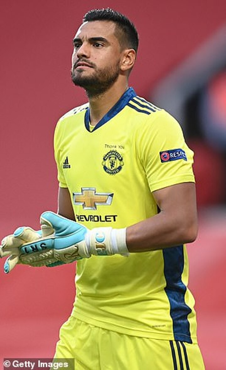Chelsea are 'considering a move for former Manchester United goalkeeper Sergio Romero'