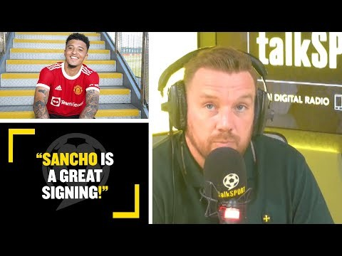 """""""SANCHO IS A GREAT SIGNING!"""" Jamie O'Hara discusses the impact Man Utd's new signing can have!"""