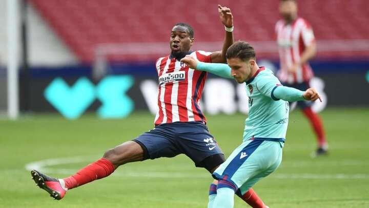 Atletico's Kondogbia tests positive for Covid-19
