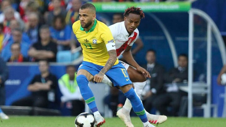 Dani Alves: The history of Brazilian football matters very little in our country