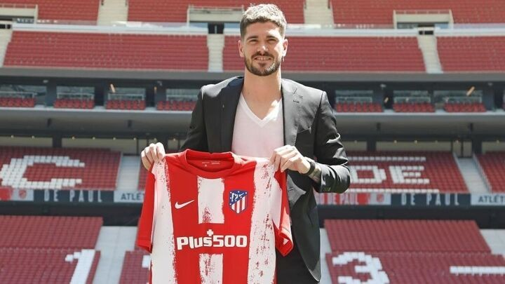 De Paul: Coming to a huge club like Atletico Madrid is a dream come true
