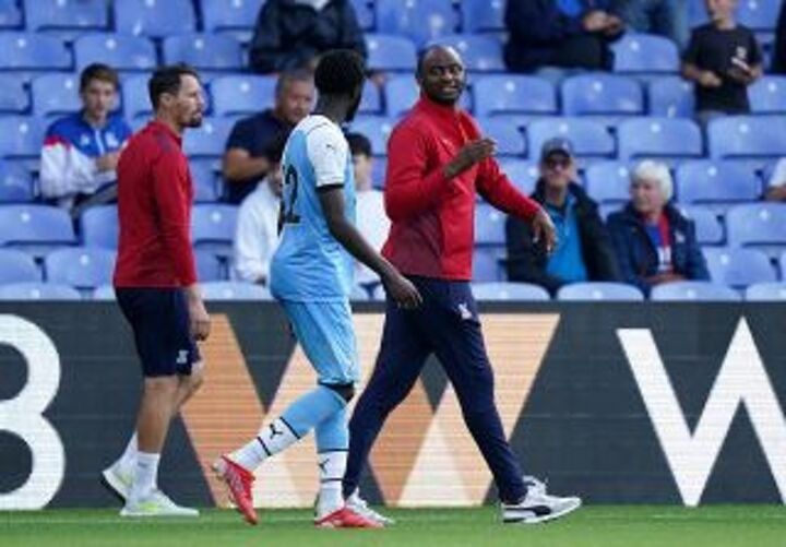 Vieira attempting to implement different style of play at Crystal Palace