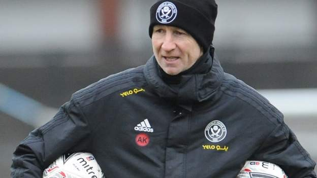 Sheffield United coach Knill departs