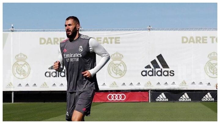 Benzema overcomes COVID-19 and will be back in training this Friday