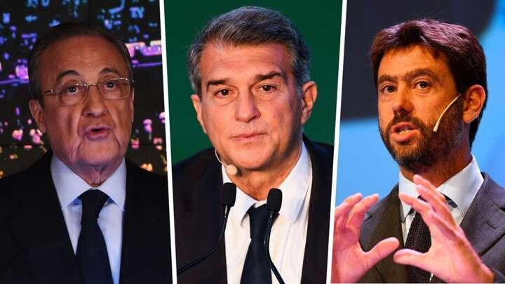 Madrid, Barca & Juve vow to keep Super League project alive