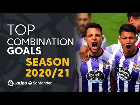 TOP 10 GOLES DE COMBINACIÓN LaLiga Santander 2020/2021