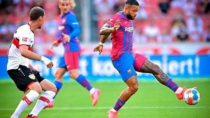 Memphis and Griezmann impress in Barcelona's win at Stuttgart