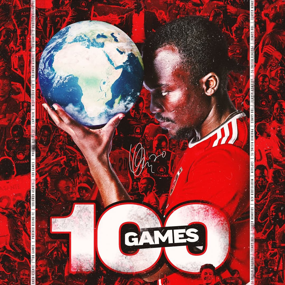 Video: Phoenix Rising coach, players rave over Solomon Asante ahead of his 100th appearance