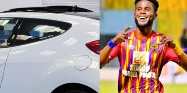 Hearts of Oak star Afriyie Barnieh gifted brand new car after Premier League title success