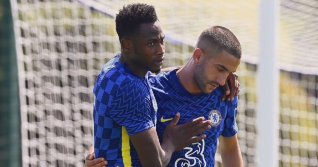 Baba Rahman delivers sumptuous assist in Chelsea's pre-season win over Bournemouth