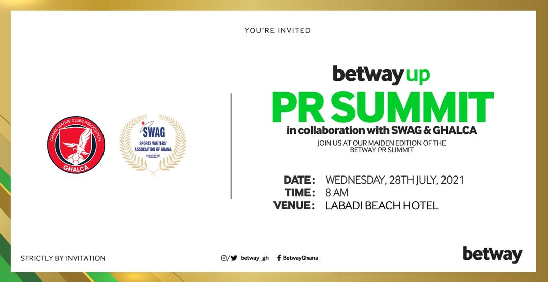 Betway, GHALCA and SWAG to organise PR seminar for GPL clubs