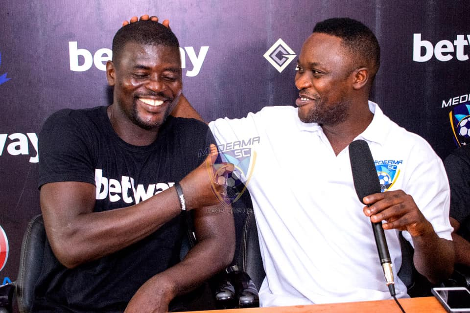 """""""Medeama did not offer me any platform, I went there to work- Hearts coach Samuel Boadu clashes with former club AGAIN!"""
