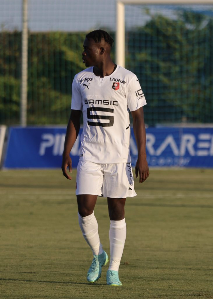 Ghana youngster Kamaldeen Sulemana plays first match for Rennes