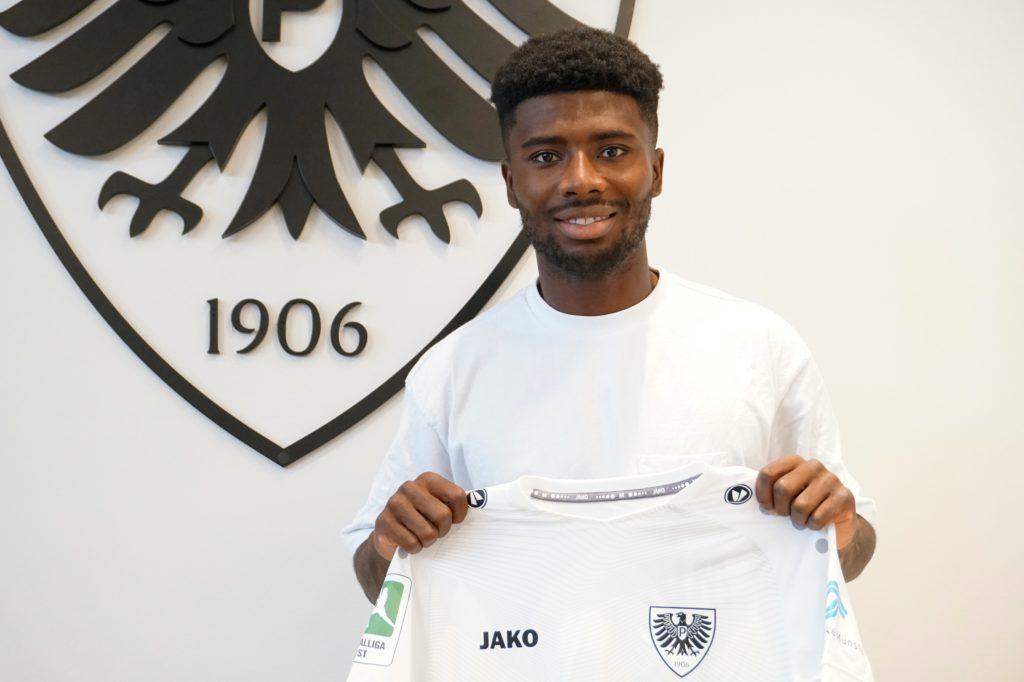 Ghanaian Manfred Osei Kwadwo feels at home at Preussen Munster