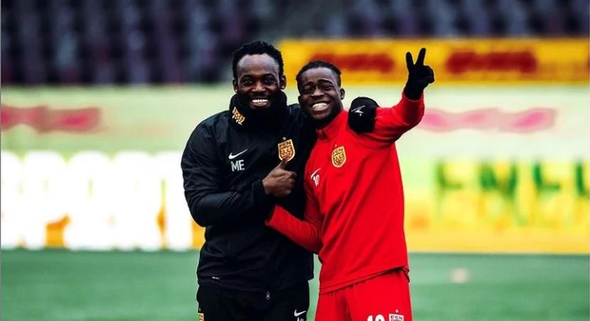 Kamaldeen Sulemana spoke to Michael Essien ahead of Rennes move