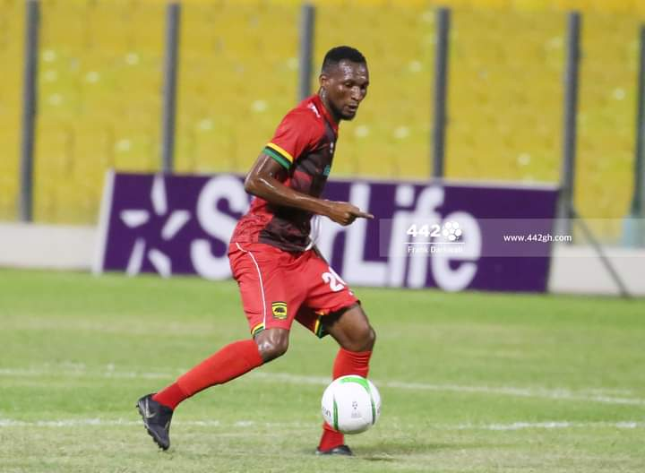 Asante Kotoko midfielder Latif Anabila wants contract terminated