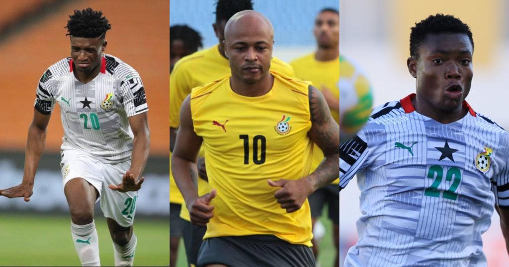 Kudus, Issahaku give Andre Ayew hope about Black Stars future