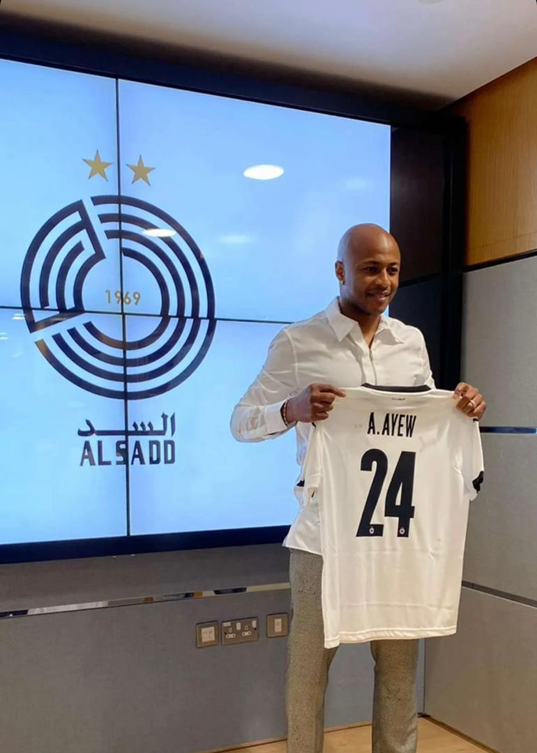 Andre Ayew to join Al Sadd pre-season tour of Spain