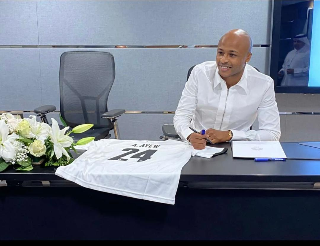 Andre Ayew to begin career in Asia