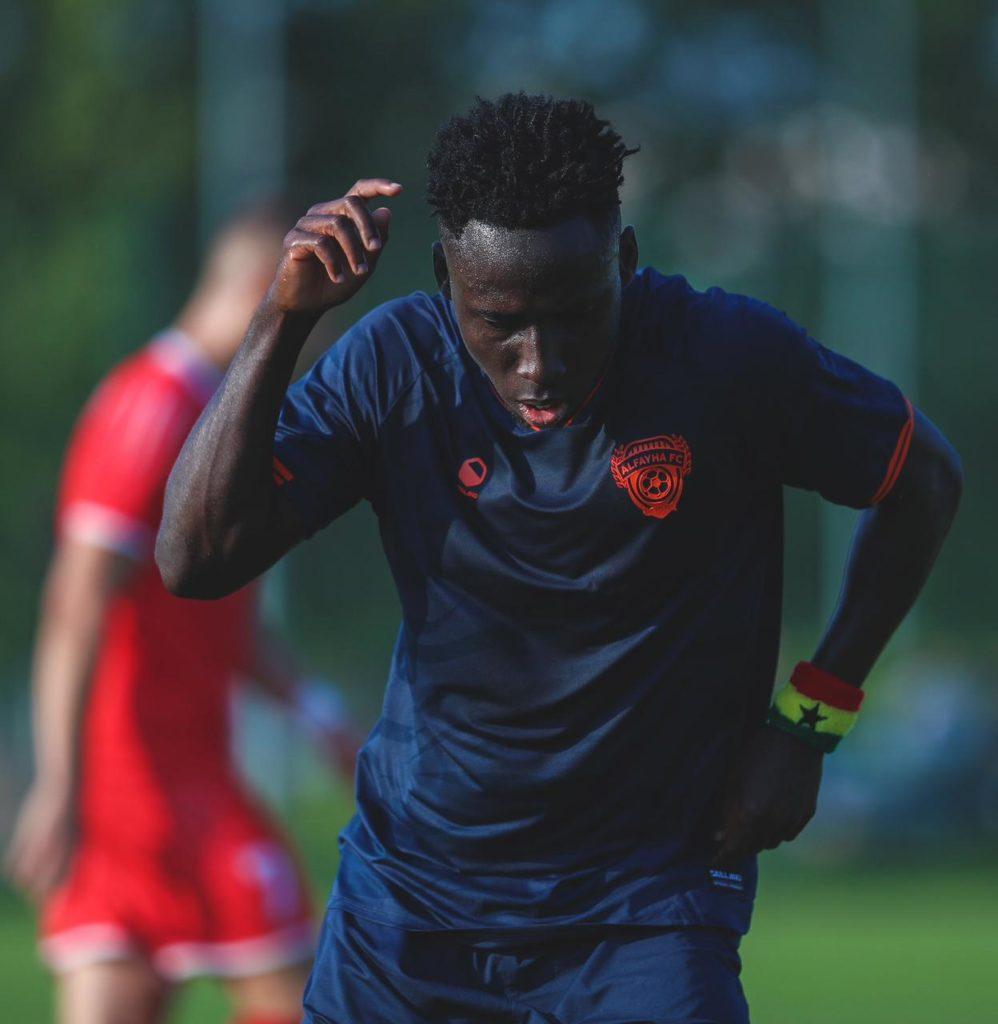 Ghana winger Samuel Owusu hits brace for Al Fayha in pre-season friendly win