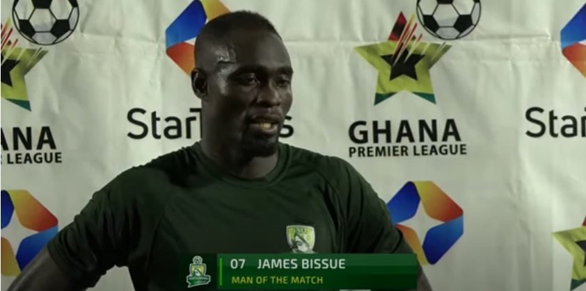 BBC, Skysports, ESPN and more react to James Bissue's golazo for Elmina Sharks against Legon Cities