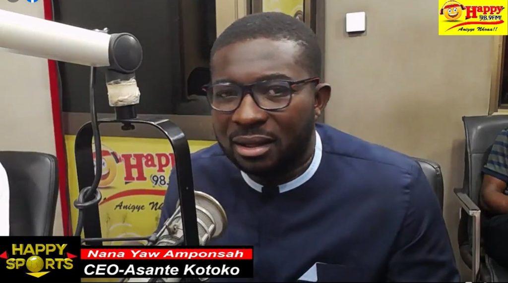 We could have won the league with 10 points if we played at Baba Yara- Kotoko CEO Nana Yaw Amponsah