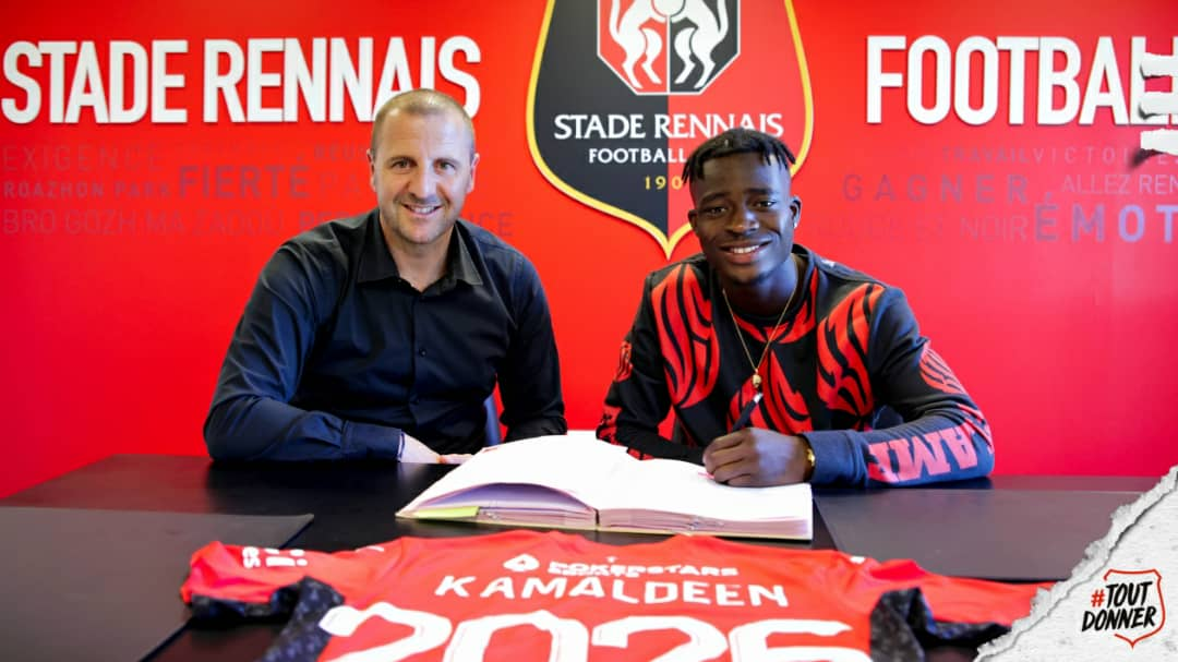Kamaldeen Sulemana reveals why he snubbed Ajax for Rennes