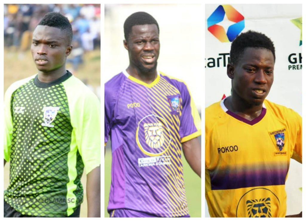 EXCLUSIVE: Hearts of Oak officially write to Medeama to request for the services of key trio