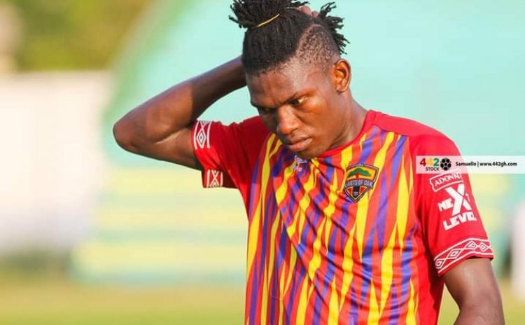 EXCLUSIVE: Raddy Ovouka free to leave Hearts of Oak under contractual buy-out clauses