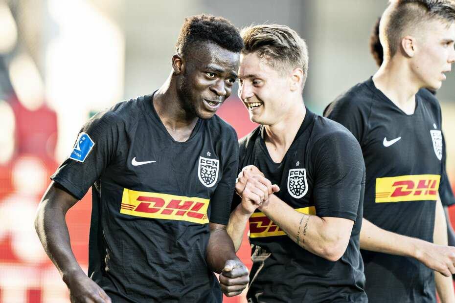 Kamaldeen Sulemana returns to Denmark to bid FC Nordsjaelland teammates farewell