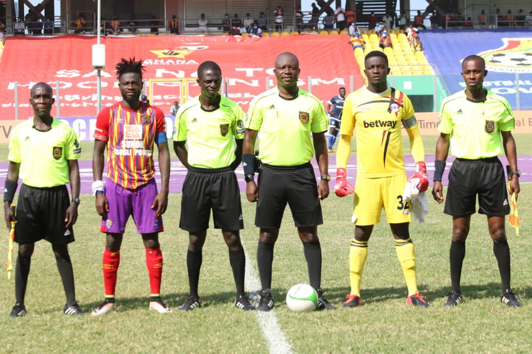 Hearts of Oak vs Liberty Professionals: Referee Obed Kwegyah Danquah charged by GFA