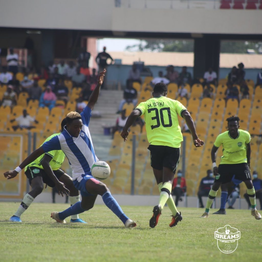 2020/21 Ghana Premier League: Week 34 Match Report- Great Olympics 2-1 Dreams FC