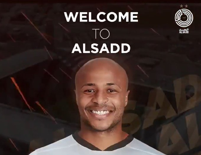 Ghana captain Andre Ayew lands in Doha to complete Al Sadd transfer