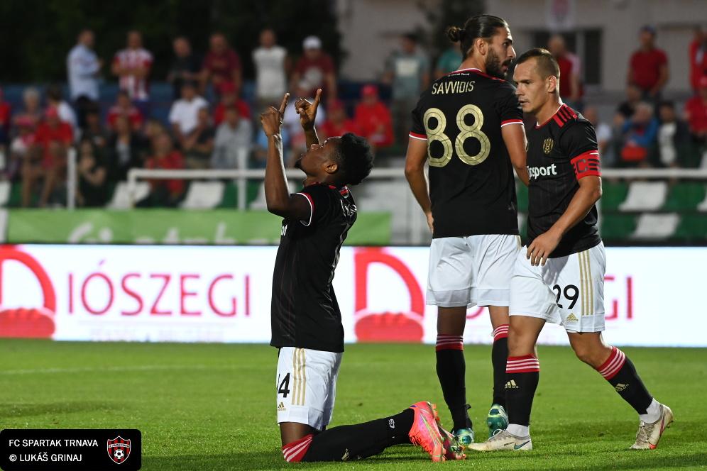 Kelvin Boateng's goal helps Spartak Trnava progress in Europa Conference League