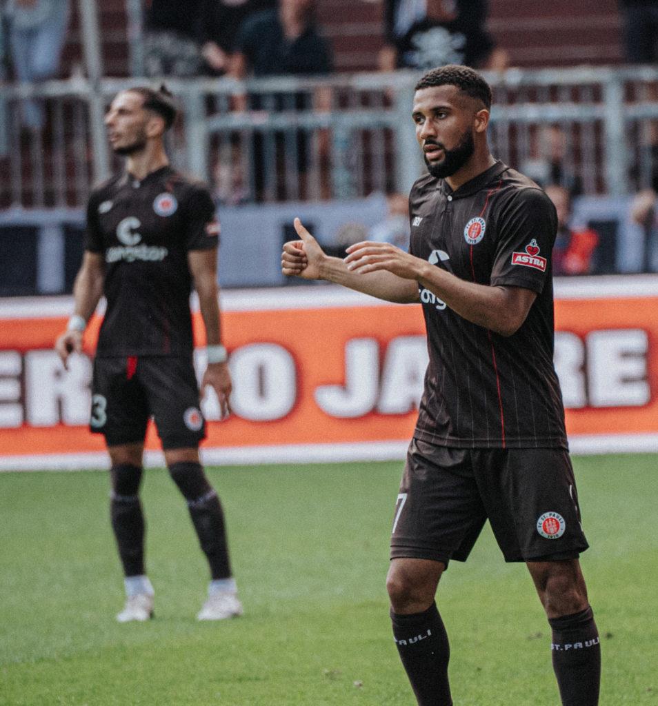 Ghanaian forward Daniel Kyereh opens season account in St Pauli's thumping win over Holstein Kiel