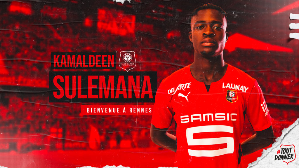 Breaking News: Ghana prodigy Kamaldeen Sulemana completes record €21m transfer to French side Rennes