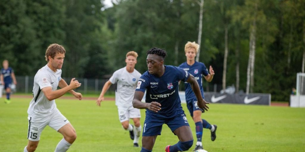 Ghanaian attacker Deabeas Owusu Sekyere scores twice in Estonia