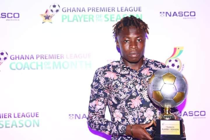 Hearts of Oak star Salifu Ibrahim wins Ghana Premier League MVP of the season
