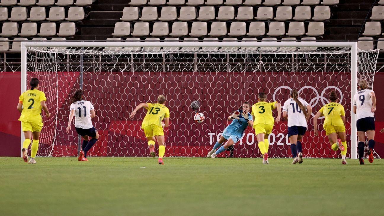 Australia roar into Olympic semis with wild win over Team GB