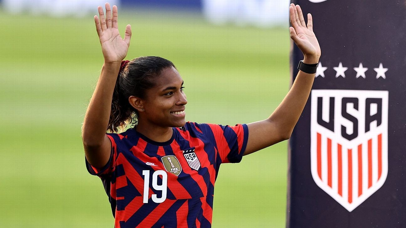 Macario's journey from boys' teams in Brazil to USWNT, Olympics